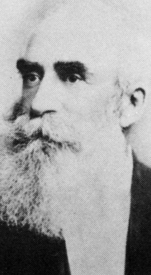 COMMUNITY BUILDER: Pioneer Samuel Shenton.