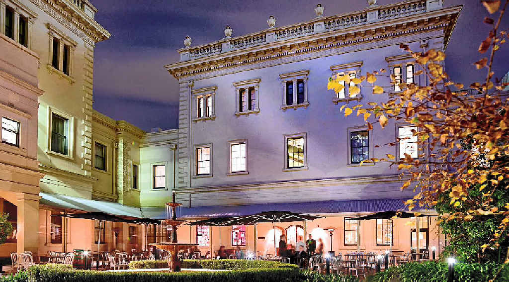 The historic Adelaide Treasury Building is handy to just about all the major attractions.