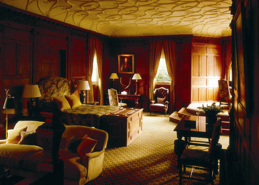 The Mountbatten Suite at Cliveden House, named after one of its famous guests.