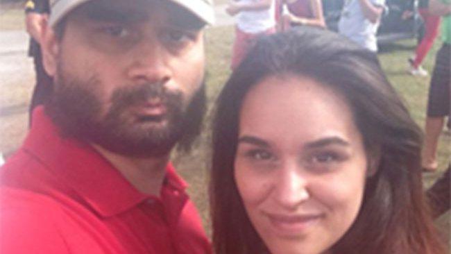 Derek Medina and Jennifer Alfonso. Photo: Facebook