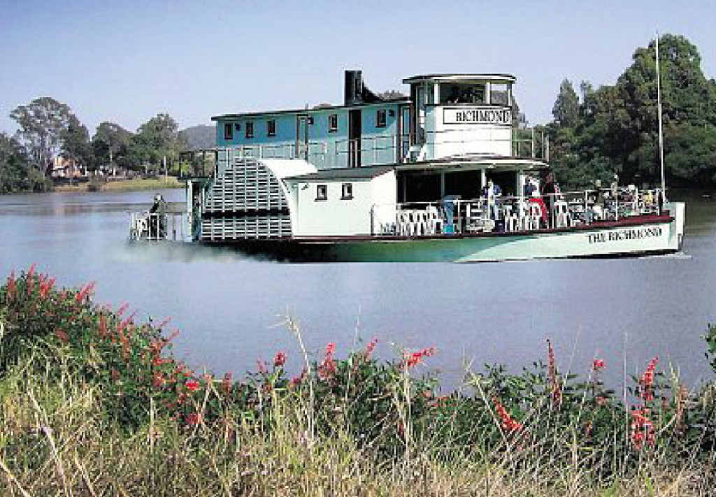REINVENTION: Residents of Woodburn, Broadwater and Wardell have been told to start planning for a post-bypass future – such as the idea to use a paddle steamer to attract visitors.