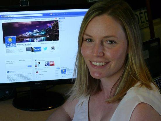 APN Australian Regional Media social media editor Alexia Purcell.