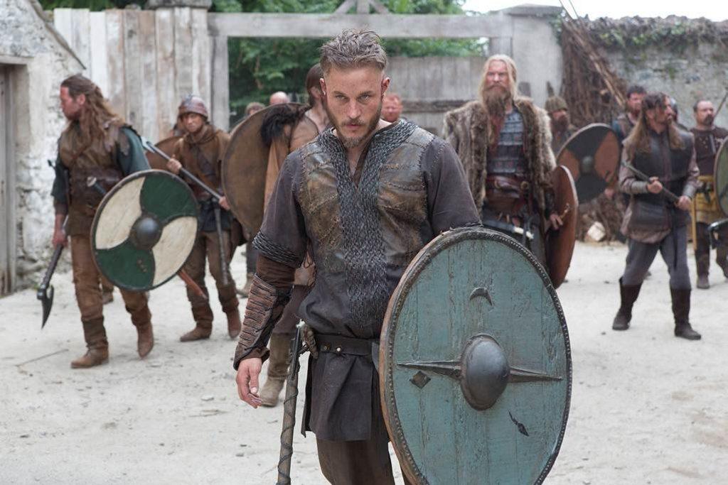 Aussie Travis Fimmel delivers an intense, slightly creepy, performance as legendary Viking Ragnar Lodbrok in historical drama series Vikings on SBS.