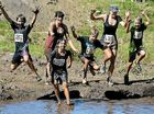 GO FOR IT: A mud bath awaits for some willing participants.
