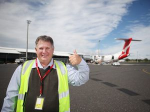 Rockhampton Airport motel on the radar