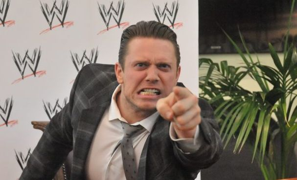 WWE Superstar The Miz in Brisbane as part of the WWE RAW Live Tour of Australia.