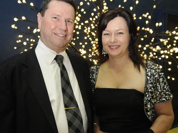 Neil and Deborah Marks, at the 2013 Lismore Business Excellence Awards in Lismore.