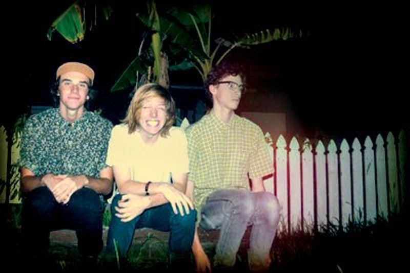 Bryce Wilson, Calum Newton and James Whitfield, members of the band Lunatics on Pogosticks, who have been selected as one of six finalists in Triple J's Unearthed High competition.