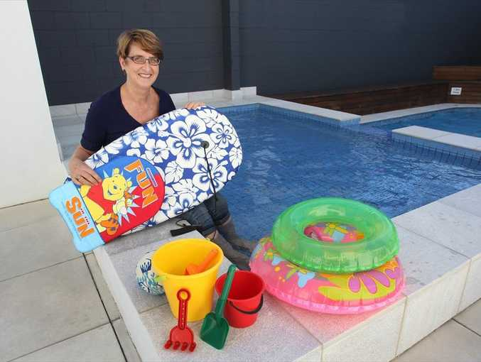 Manager of Northwind Apartments at Mooloolaba, Jennifer Barry, says their apartments are very family friendly.