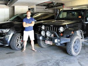 Life is swell for big wave surfer Mark Visser with two Jeeps