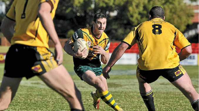 INJURY CONCERNS: Wattles player Matt Duggan had to leave the field with an injury in the TRL minor semi-final against Gatton.