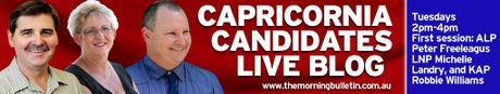 Capricornia Live Blog promotional graphic