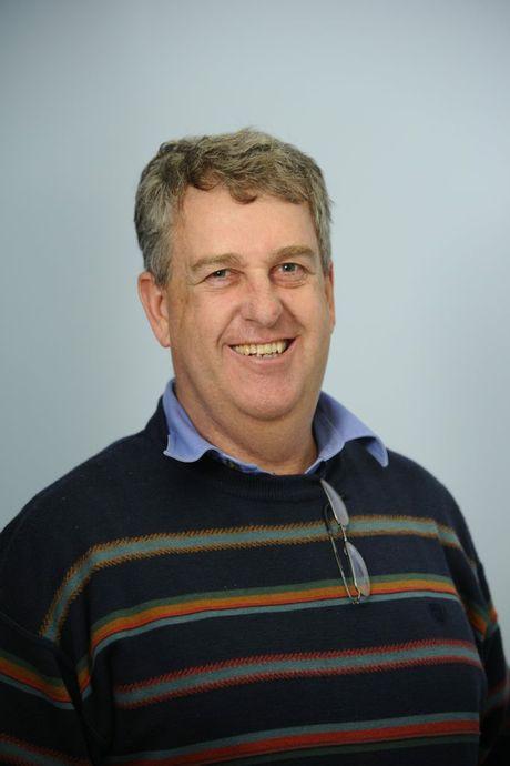 Daily Examiner employee, Chief of Staff, journalist, Tim Howard. Photo JoJo Newby / The Daily Examiner