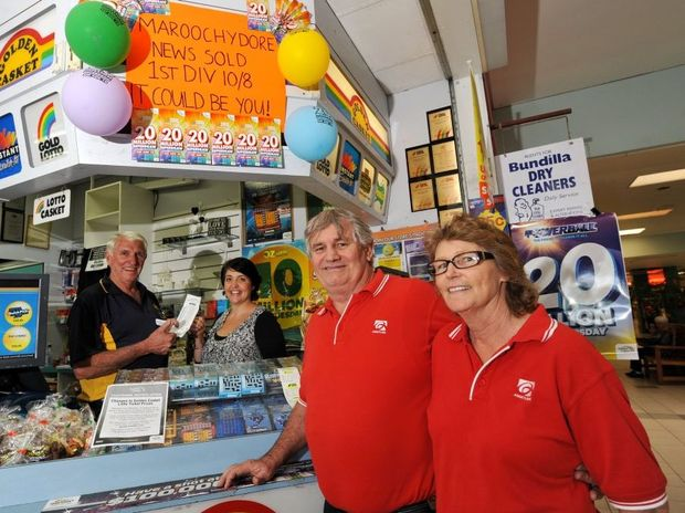 Joe and Helen Holmes have taken a share of the $20million Division 1 lotto prize.