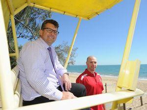 Pitt pledges cash for new surf life saving patrol tower