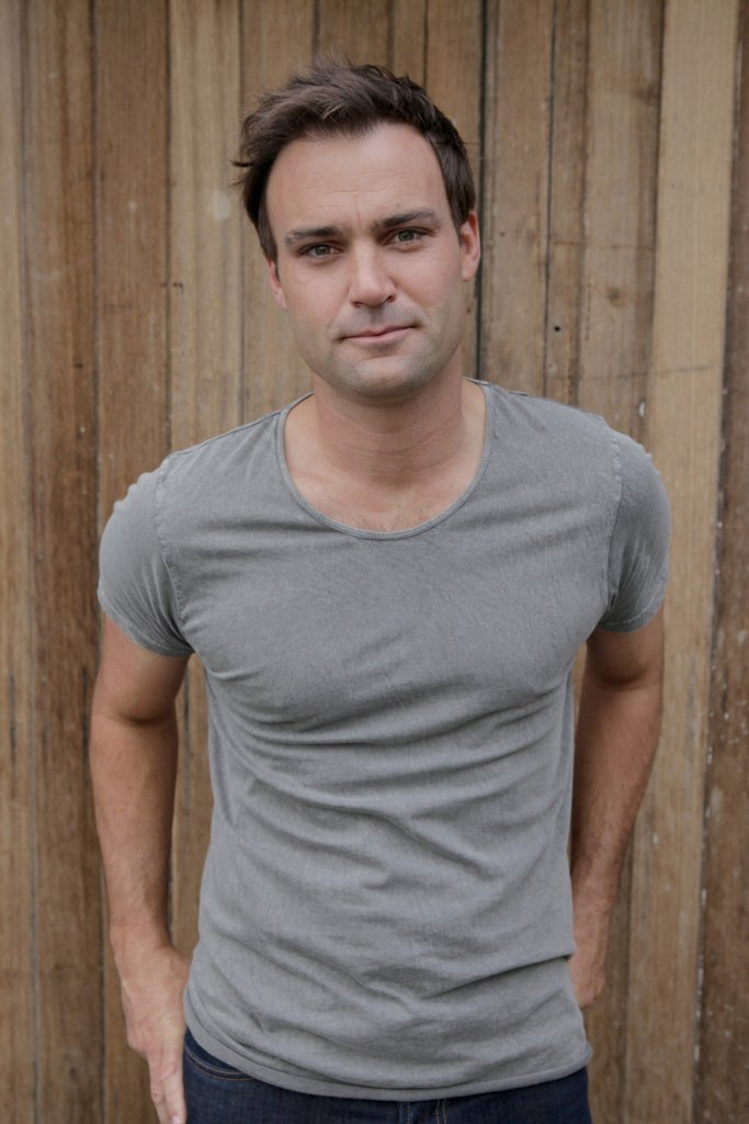 Actor Matthew Le Nevez stars in the TV series Offspring and the upcoming ABC telemovie Parer's War.