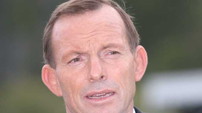 Opposition leader Tony Abbott.. not talking on Brough