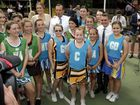 Opposition Leader Tony Abbott campaigns in Caboolture