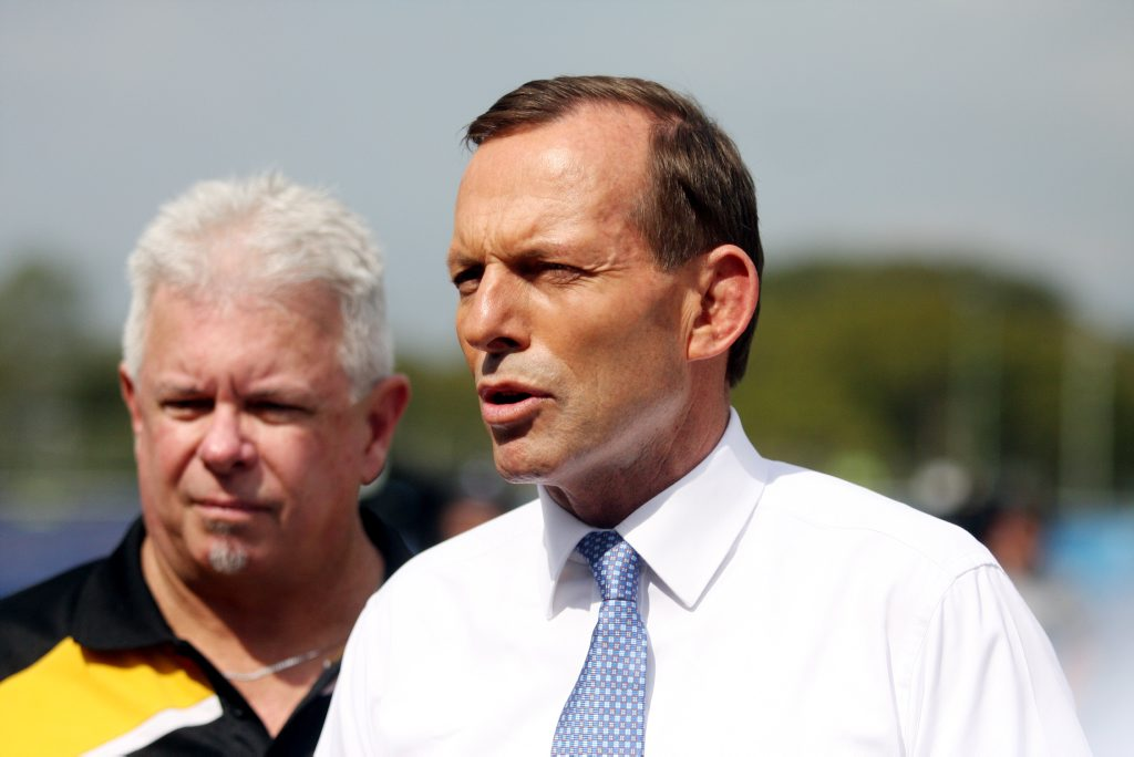 Opposition Leader Tony Abbott declared an end to the donations.