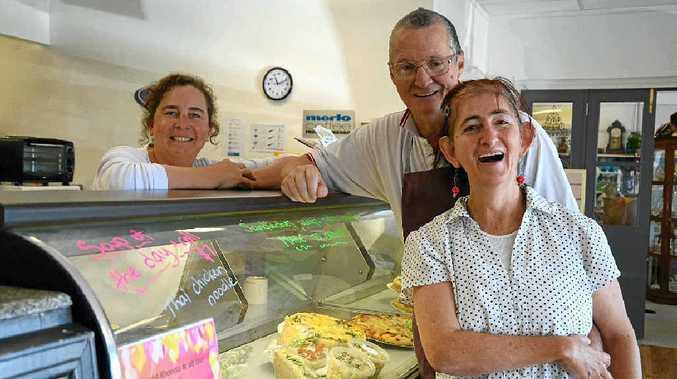 NEW BEGINNINGS: Mardi Field, David Lorenzo and wife Rhonda are excited to get Plantation Organic Bakery up and running. PHOTO: GEORJA RYAN