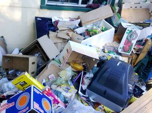 Stench and mess confronts owner at wrecked home