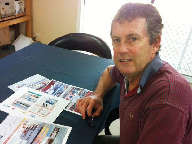 Ross Roberts from Harwood Marine.