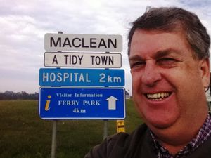 Tim's roving in Maclean to net stories