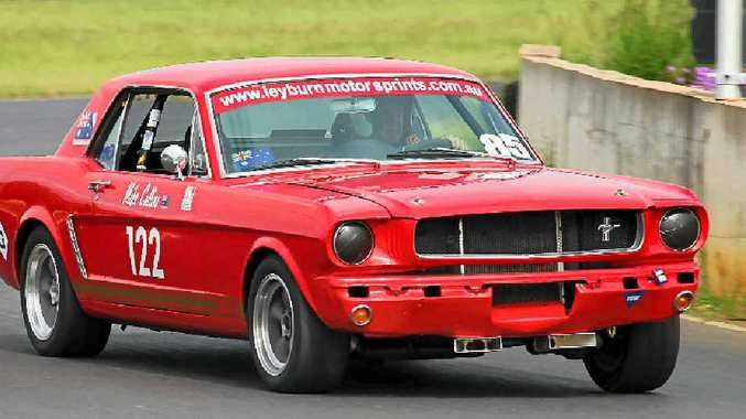 Mike Collins puts the Ford Mustang to work in Australia after a third on Pikes Peak in the United States.