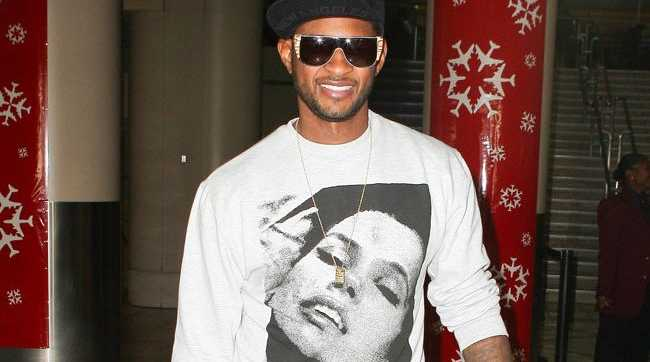 Usher has confessed he gave up being a vegan because it was too expensive having a private chef travel with him on tour just so that his food would taste good.