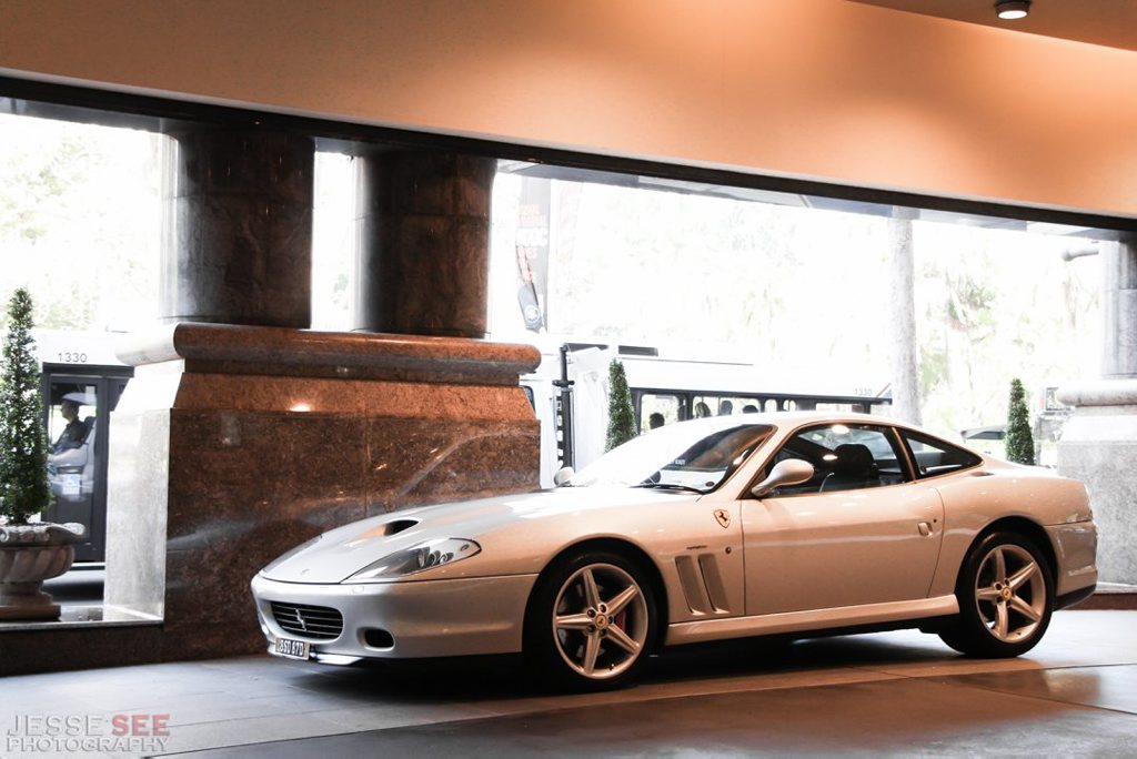 The 2004 Ferrari 575M Maranello F1.