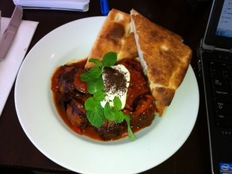 The Moroccan Meatball at On the Bite provided some gastronomic delight.