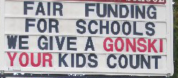 Central Highland teachers stage rally over Gonski in Emerald