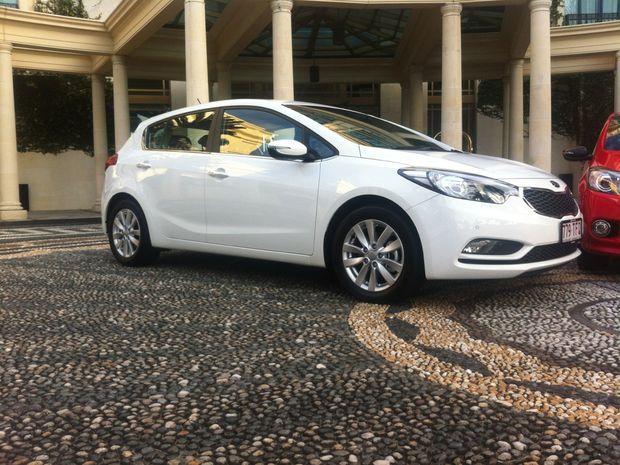 The new Kia Cerato Hatch.