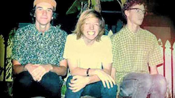 HAPPENIN' HOPEFULS: Bryce Wilson, Calum Newton and James Whitfield.
