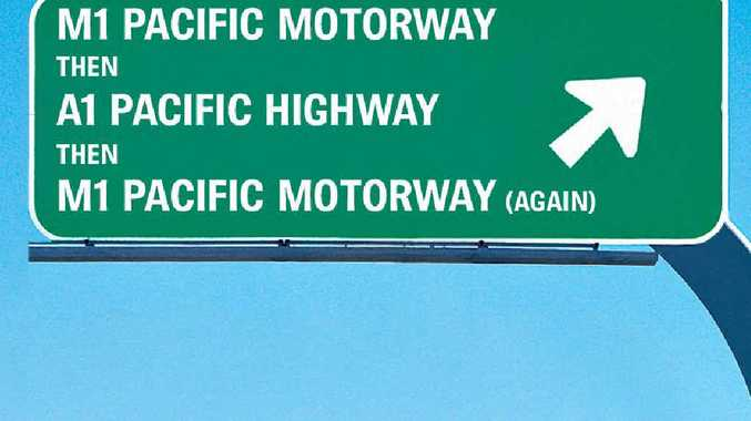 NAME CHANGES: From Monday, the Sydney to Newcastle highway will be renamed the M1 Pacific Motorway.