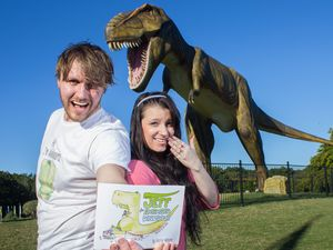 Clive Palmer's dinosaur inspires book and song for couple