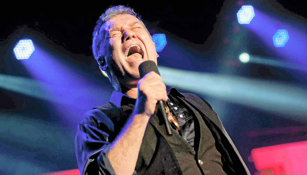 IN FINE VOICE: Jimmy Barnes will be coming to the Lake Kawana Community Centre.