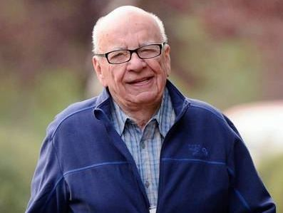 Rupert Murdoch... Australian newspaper businesses struggling.