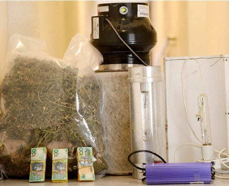 SEIZED: Ipswich police found money and drugs during raids in the Ipswich region on Friday and Saturday.