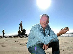 Council maintains battle with nature on beaches