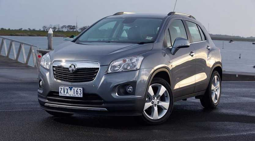The new Holden Trax.