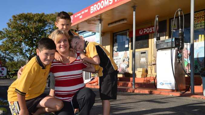 Jo Mills of Brooms Head is a supermum to Jake, Logan and Kody. Photo Georja Ryan / Daily Examiner
