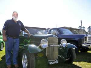 Gary Green with his 1931 Ford Vicky at the Hot Rods Swap meet at the Lismore Showground Photo Mireille Merlet-Shaw / The Northern Star
