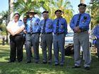 Vietnam Veterans Day service at Anzac Park, Gladstone.