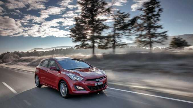 The new Hyundai i30 SR.