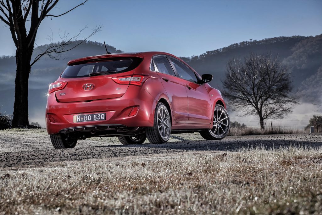 The Hyundai i30 SR.