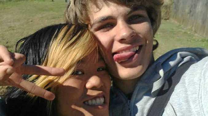 OTHER TIMES: Brandon Matthews and his fiancee Clara Phung TiÍu Nguyen in 2010.