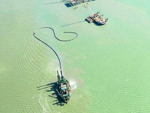 Dredge dumping sewage in harbour one of many incidents
