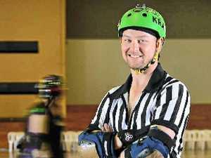 Ruler of rink has no fear of fierce derby ladies