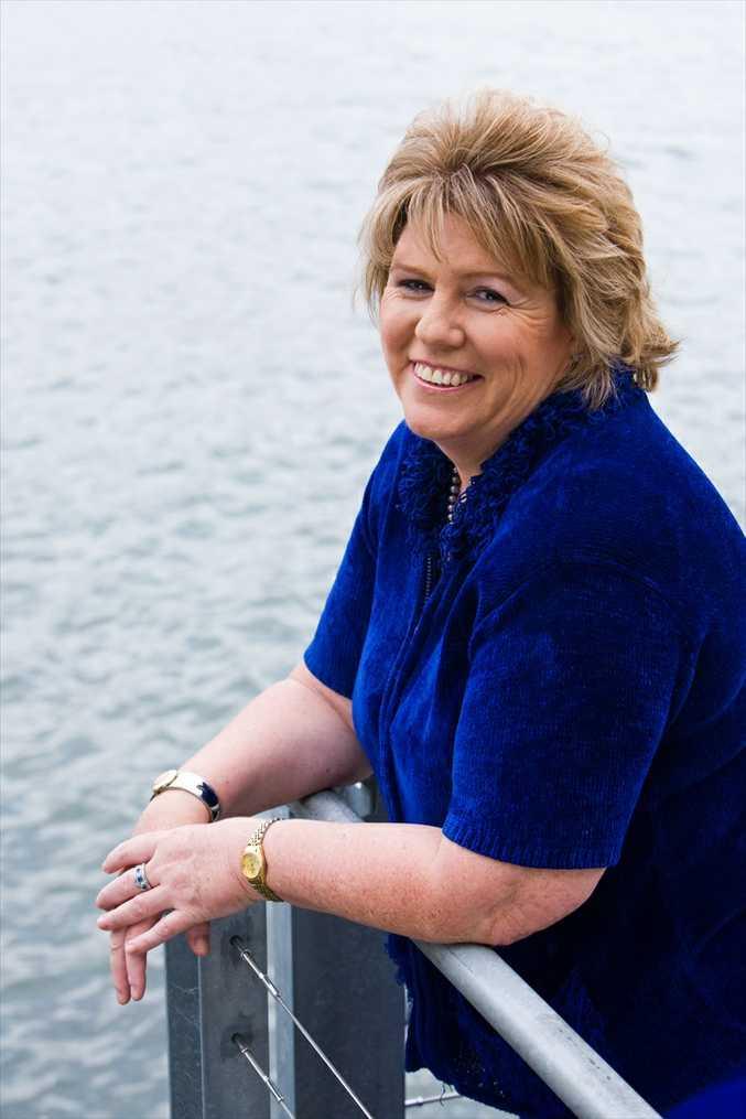 Queensland MENSA secretary Ainslie Waldron.